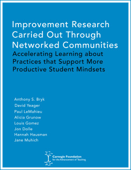 Improvement Research Carried Out Through Networked Communities: Accelerating Learning about Practices that Support More Productive Student Mindsets